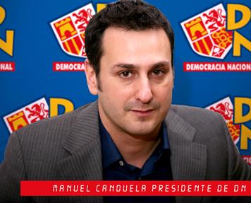 Manuel Canduela. PRESIDENTE DE DN.