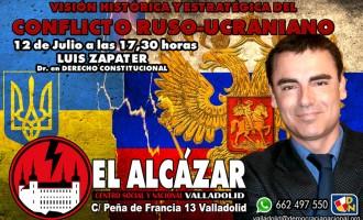 Luis Zapater en Valladolid.