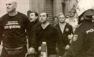 Recibiendo a ETA en Jaén.<br><span style='color:#006EAF;font-size:12px;'>TERRORISMO</span>