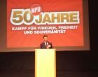 35º CONGRESO DE NPD &#8220;50 AÑOS DE LUCHA&#8221;<br><span style='color:#006EAF;font-size:12px;'>Alemania: Congreso del partido nacionalista NPD y nueva directiva</span>