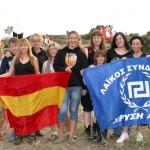Mujeres nacionalistas Españolas en apoyo a Golden Dawn