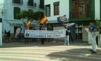 ACCIONES DE DEMOCRACIA NACIONAL EN GRANADA Y GRAN CANARIA<br><span style='color:#006EAF;font-size:12px;'>Protestas en Granada y Gran Canaria</span>