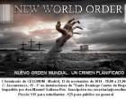 """13N, MADRID: """"NUEVO ORDEN MUNDIAL: UN CRIMEN PLANIFICADO""""<br><span style='color:#006EAF;font-size:12px;'>CONFERENCIA </span>"""