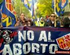 Más de 60.000 personas piden la erradicación del aborto<br><span style='color:#006EAF;font-size:12px;'>MADRID</span>