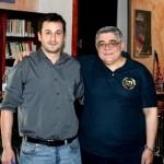 Manuel Canduela y Nickos Michaloliakos
