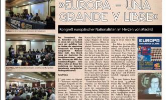 DN en prensa nacionalista alemana<br><span style='color:#006EAF;font-size:12px;'>EUROPA UNA GRANDE Y LIBRE</span>
