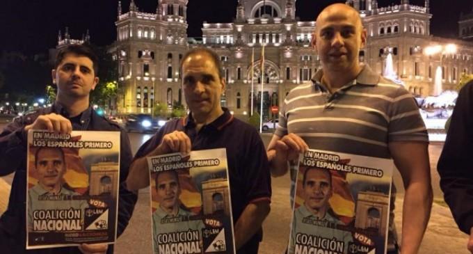 Jesús Muñoz, COALICIÓN NACIONAL.<br><span style='color:#006EAF;font-size:12px;'>Entrevista a Jesus Muñoz, cabeza de lista de COALICION NACIONAL en la Com de MADRID.</span>