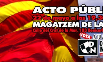 Video-crónica mitin DN en Benicarló (Castellón)<br><span style='color:#006EAF;font-size:12px;'>ELECCIONES MUNICIPALES 2015</span>