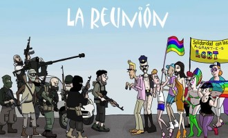 Esquizofrénico Régimen-78: promoviendo el islam y el homosexualismo<br><span style='color:#006EAF;font-size:12px;'>DEMOCRACIA NACIONAL BENICARLÓ (CASTELLÓN)</span>