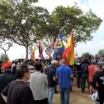 Banderas de los grupos convocantes