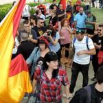 Comienza la tradicional jura de Bandera.