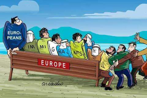 Resultado de imagen de refugiados no bienvenidos