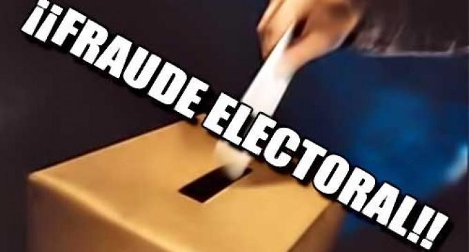"""Así se roban los votos """"Oficial"""" corroboren  ustedes mismos"""