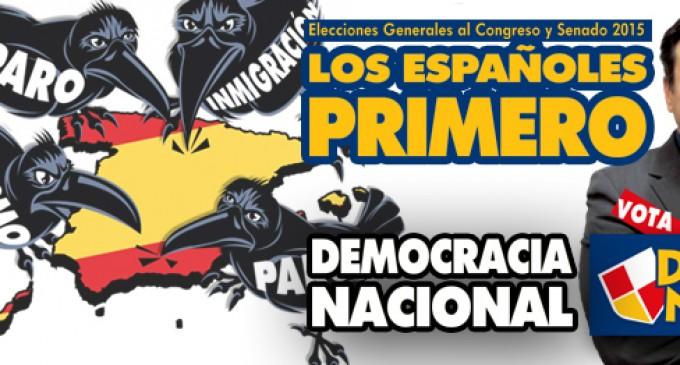 VOTA DEMOCRACIA NACIONAL<br><span style='color:#006EAF;font-size:12px;'>Elecciones Generales y al Senado 2015</span>