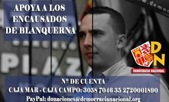 APOYA A LOS  ENCAUSADOS  DE BLANQUERNA<br><span style='color:#006EAF;font-size:12px;'>Represión</span>
