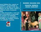 HASTA NUNCA JUAN CARLOS<br><span style='color:#006EAF;font-size:12px;'>Manuel Galiana</span>
