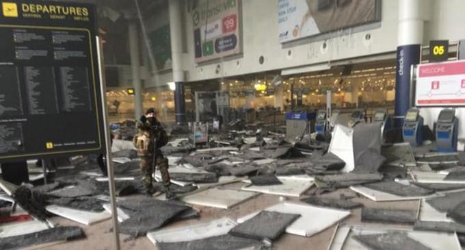 Atentado terrorista en Bruselas.<br><span style='color:#006EAF;font-size:12px;'>Se eleva a 34 el número de fallecidos tras varias explosiones en la capital Belga.</span>