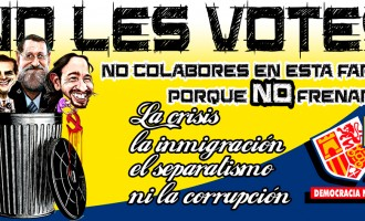 NO LES VOTES<br><span style='color:#006EAF;font-size:12px;'>Nuestra ANTI-CAMPAÑA</span>