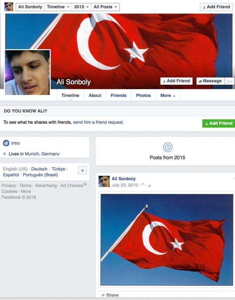 ali bandera turca