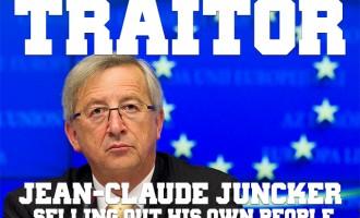 """Juncker:""""La UE nunca abandonará su política de fronteras abiertas""""<br><span style='color:#006EAF;font-size:12px;'>POR LA SALIDA DE LA UNIÓN EUROPEA</span>"""