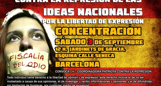 CONCENTRACIÓN 3Sept. BARCELONA<br><span style='color:#006EAF;font-size:12px;'>CONCENTRACIÓN LEGAL Y AUTORIZADA</span>