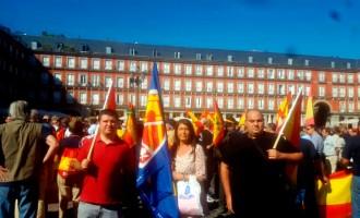 Concentración de la Hermandad de Antiguos Caballeros Legionarios en la Plaza Mayor de Madrid<br><span style='color:#006EAF;font-size:12px;'>Sábado 24 de Septiembre</span>