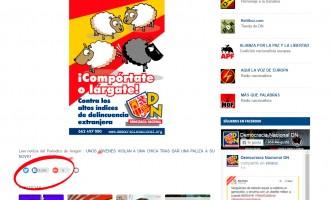 Polémica en Facebook<br><span style='color:#006EAF;font-size:12px;'>Racismo Antiespañol</span>