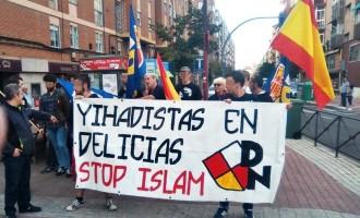 Acción contra la inseguridad en Delicias.<br><span style='color:#006EAF;font-size:12px;'>DN Valladolid en Delicias contra la islamización.</span>