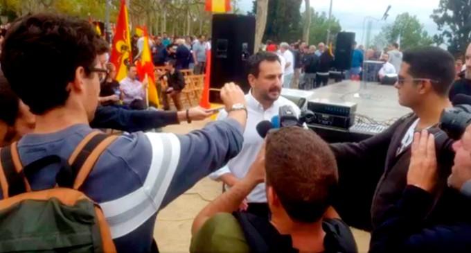 Crónica en imágenes del 12 de Octubre<br><span style='color:#006EAF;font-size:12px;'>Acto en Barcelona (Montjuic)</span>