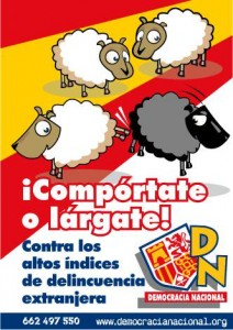 comportate o largate