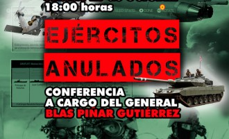 EJÉRCITOS ANULADOS<br><span style='color:#006EAF;font-size:12px;'>Conferencia de Blas Piñar Gutiérrez en Castellón</span>