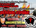 Manifestación y Acto en Barcelona<br><span style='color:#006EAF;font-size:12px;'>Acto en BARCELONA (MONTJUIC) HOY 12 DE OCTUBRE</span>