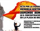 Acto NACIONAL en Plaza de Oriente<br><span style='color:#006EAF;font-size:12px;'>20N Domingo a las 12</span>
