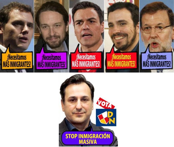 inmigracion canduela