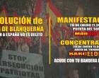 Manifestación contra la infamia de Blanquerna<br><span style='color:#006EAF;font-size:12px;'>Sábado 28 en MADRID Y BARCELONA</span>