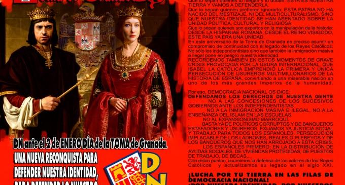 2 de enero: 525 años de la Toma de Granada<br><span style='color:#006EAF;font-size:12px;'>RECONQUISTA</span>