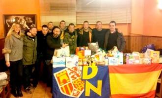 Red de Ayuda en Barcelona<br><span style='color:#006EAF;font-size:12px;'>Solidaridad con los españoles necesitados.</span>