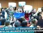 AL FINAL CUMPLIERON SUS AMENAZAS<br><span style='color:#006EAF;font-size:12px;'>Podemos pide cancelar un acto «neomachista» en la Hispalense «vinculado a la extrema derecha»</span>