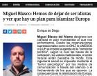 Interesante entrevista al director de AQUÍ LA VOZ DE EUROPA<br><span style='color:#006EAF;font-size:12px;'>Rambla Libre entrevista a Miguel Blasco</span>