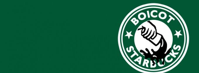 Starbucks se mea en tus botas.<br><span style='color:#006EAF;font-size:12px;'>¡¡¡Boicot!!!</span>