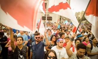 Multitudinaria manifestación en Perú contra la ideología de género<br><span style='color:#006EAF;font-size:12px;'>Iberoamérica lidera la resistencia contra la dictadura de género</span>