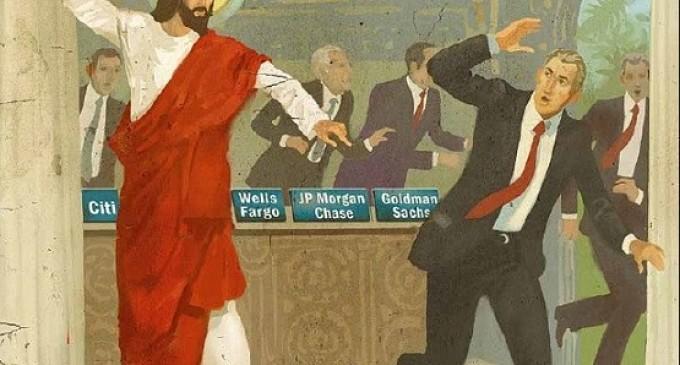 Jesucristo y los usureros<br><span style='color:#006EAF;font-size:12px;'>En respuesta a Actuall</span>
