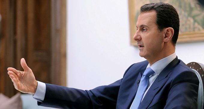 Al Assad: En Siria combaten 100.000 terroristas que pueden dirigirse a Europa<br><span style='color:#006EAF;font-size:12px;'>STOP ISLAMIZACIÓN DE EUROPA</span>