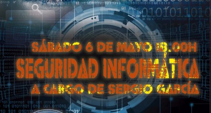Seguridad informática<br><span style='color:#006EAF;font-size:12px;'>Conferencia en El Alcázar</span>