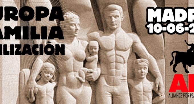 EUROPA – FAMILIA – CIVILIZACIÓN<br><span style='color:#006EAF;font-size:12px;'>APF:  Congreso EUROPEO este sábado 10</span>