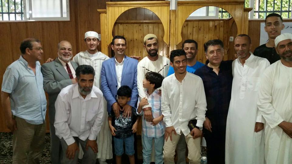 Alcalde de Granada con la comunidad islámica.