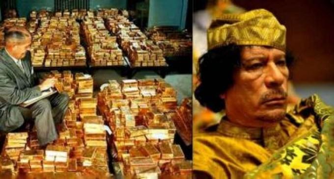 Los emails de Hillary revelan que la OTAN mató a Gadafi para evitar la creación de una divisa africana respaldada en oro<br><span style='color:#006EAF;font-size:12px;'>¿A QUIÉN SIRVE LA OTAN?</span>