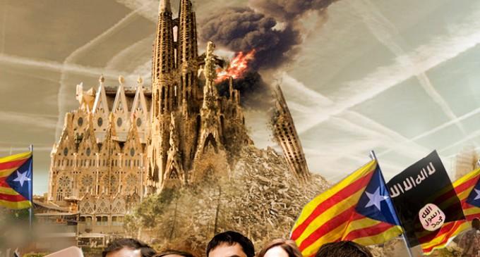 Audio: Paremos la islamización de Europa; ¿Falsa bandera en Barcelona?<br><span style='color:#006EAF;font-size:12px;'>AQUI LA VOZ DE EUROPA</span>