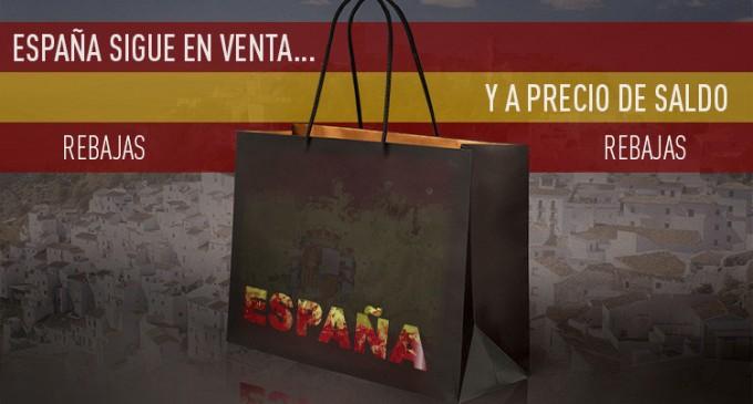 El desguace de España se acelera<br><span style='color:#006EAF;font-size:12px;'>DESTRUCCIÓN DE NUESTRA ECONOMÍA NACIONAL</span>