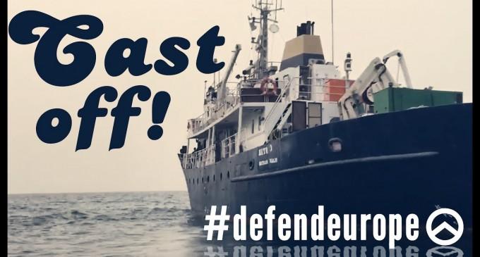 Movilización para evitar la llegada de un barco de la ultra derecha al Empordà<br><span style='color:#006EAF;font-size:12px;'>Defend Europe</span>